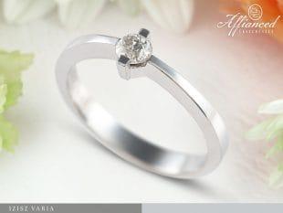 Ízisz Varia - eljegyzési gyűrű