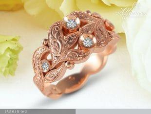 Jázmin no2 - női gyűrű