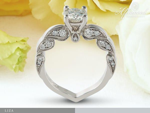 Liza - női vagy eljegyzési gyűrű