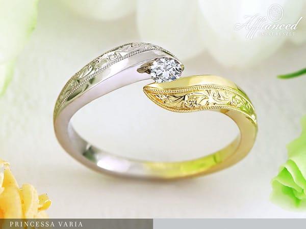 Princessa Varia – eljegyzési gyűrű