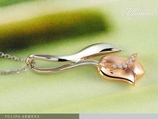 Tulipa Armena - arany medál lánccal