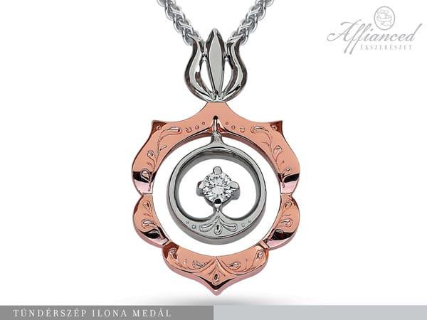 Tündérszép Ilona - arany medál