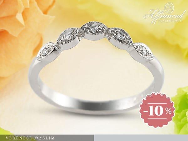Veronese no2 Slim – eljegyzési gyűrű