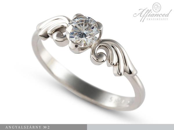 Angyalszárny no2 – eljegyzési gyűrű