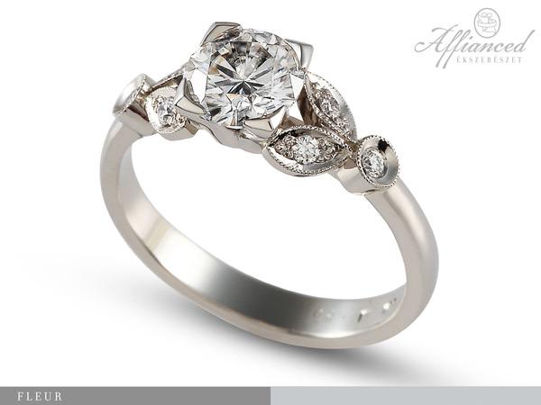 Fleur – eljegyzési gyűrű