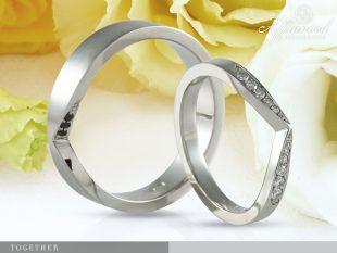 Together - karikagyűrű pár