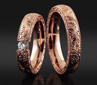 Barocco Full no3 - karikagyűrű pár