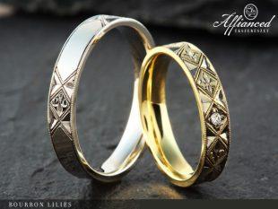 Bourbon Lillies - karikagyűrű pár