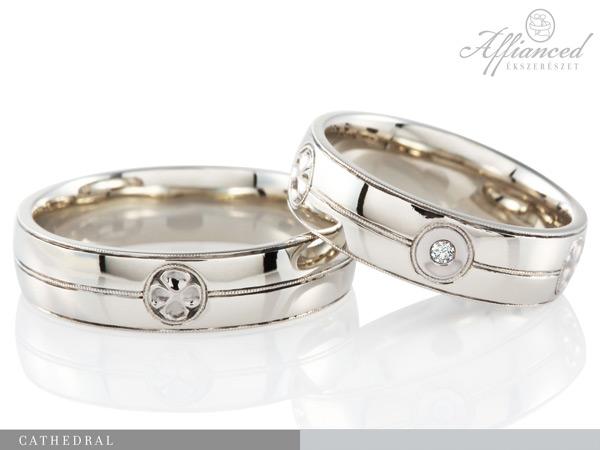Cathedral - karikagyűrű pár