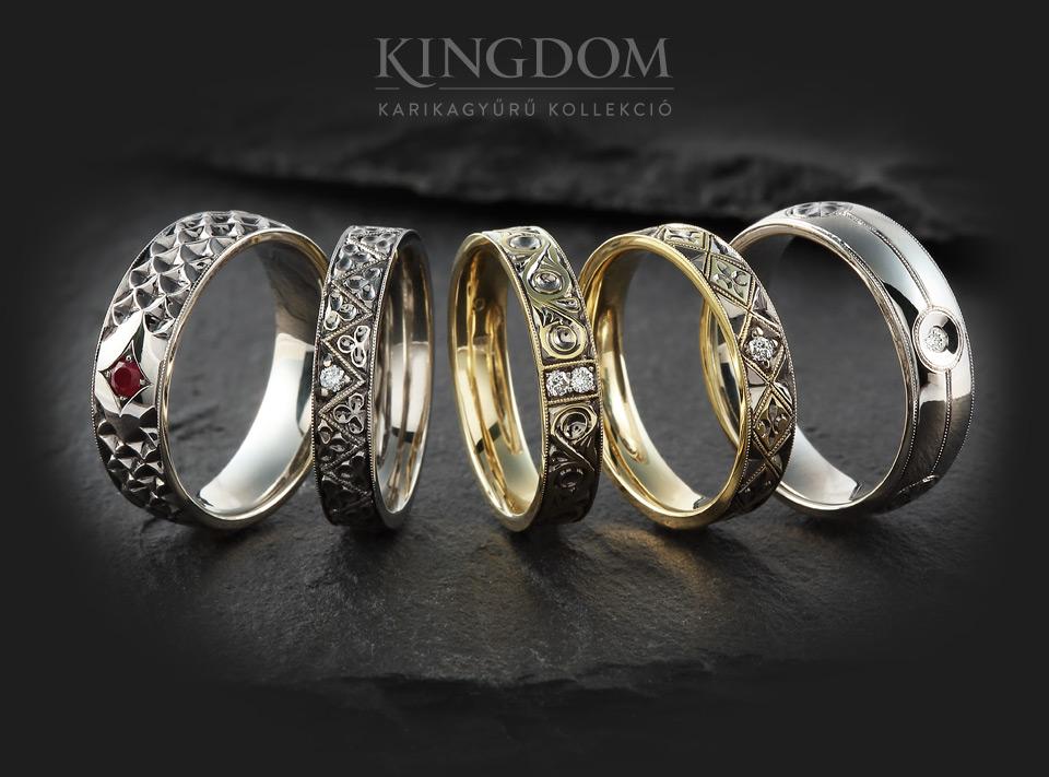 Kingdom karikagyűrű kollekció