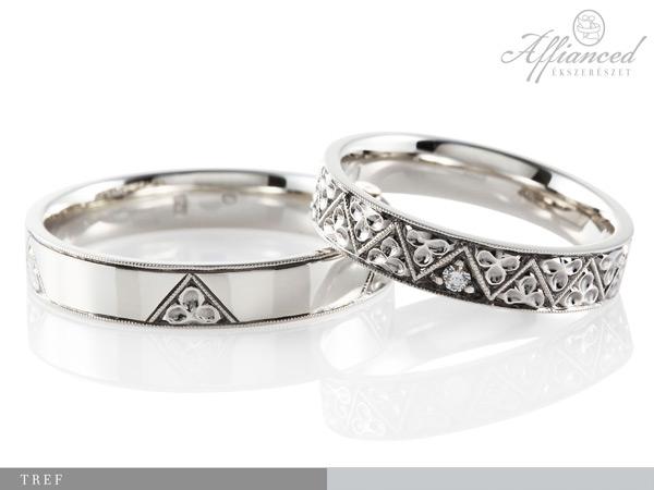 Tref - karikagyűrű pár