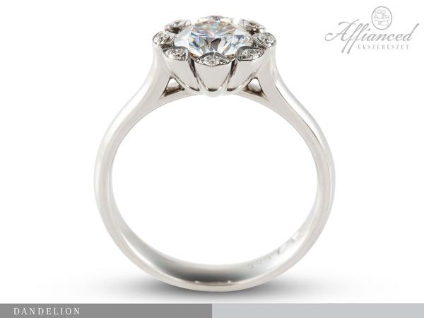 Dandelion – eljegyzési gyűrű