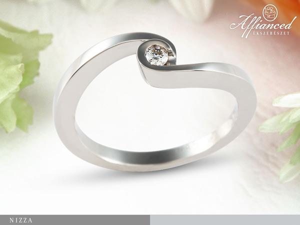 Nizza – eljegyzési gyűrű