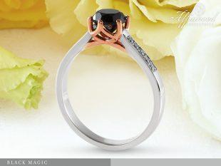 Black Magic – eljegyzési gyűrű