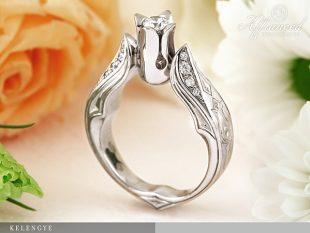 Kelengye – női gyűrű, eljegyzési gyűrű