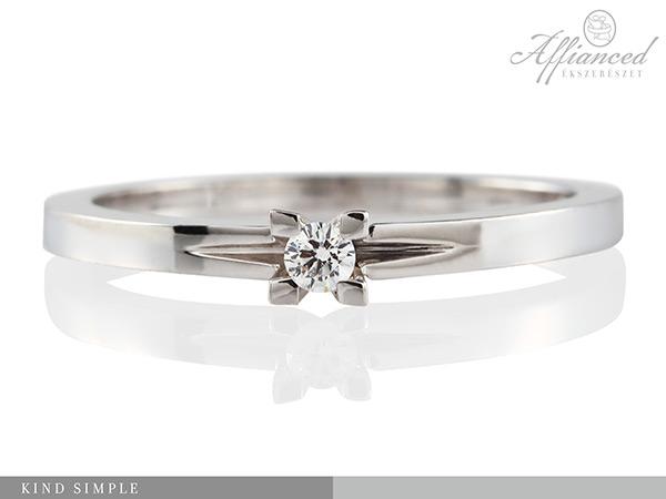 Kind Simple – női gyűrű, eljegyzési gyűrű