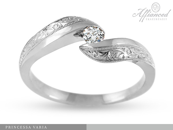 Princessa Varia no2 – női gyűrű, eljegyzési gyűrű