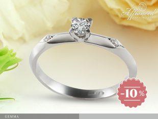 Gemma - eljegyzési gyűrű