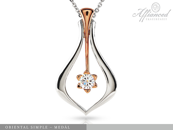 Oriental Simple – arany medál lánccal