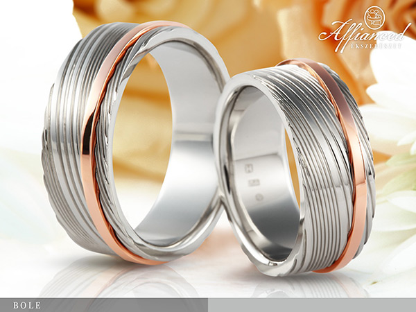 Bole - karikagyűrű pár