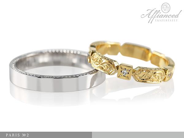 Paris no2 - karikagyűrű pár