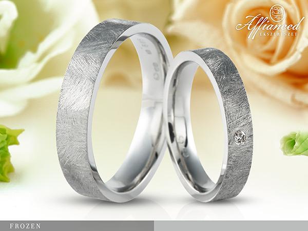 Frozen - karikagyűrű pár