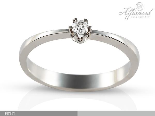 Petit - eljegyzési gyűrű