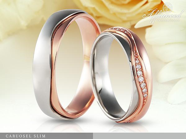 Carousel Slim - karikagyűrű pár
