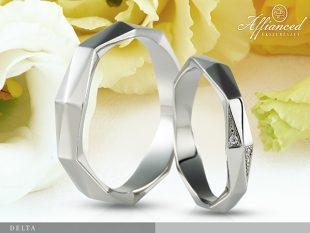 Delta - karikagyűrű pár