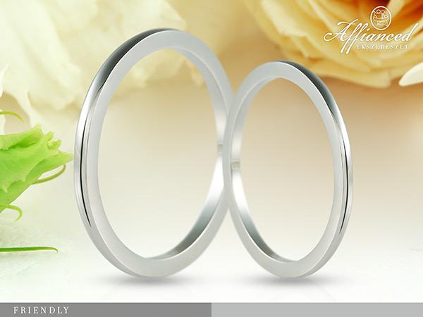 Friendly - karikagyűrű pár