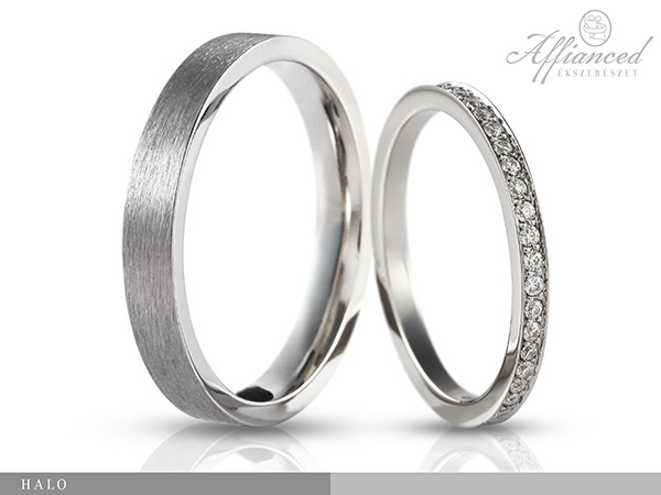Halo - karikagyűrű pár