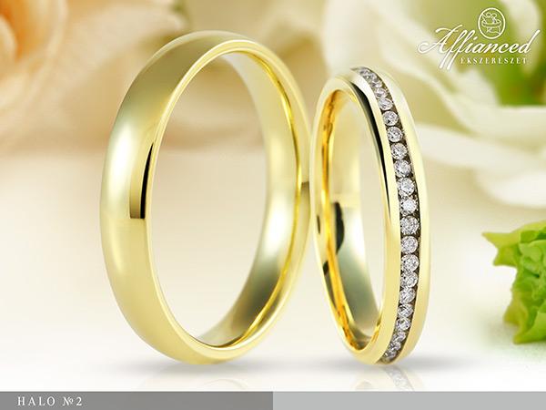 Halo no2 - karikagyűrű pár