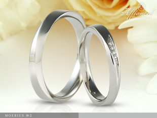 Moebius no2 - karikagyűrű pár