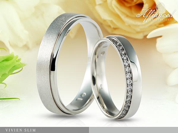 Vivien Slim - karikagyűrű pár