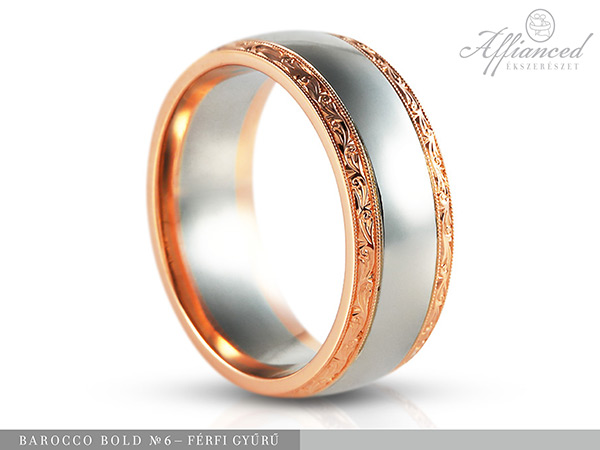 Barocco Bold no6 - férfi gyűrű