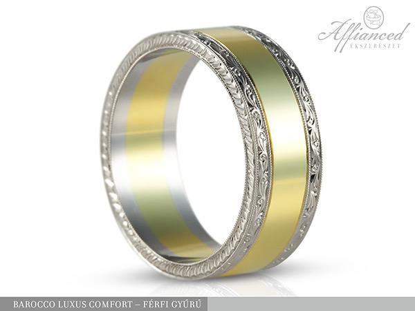 Barocco Luxus Comfort - férfi gyűrű