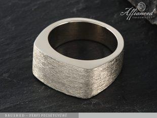 Brushed - pecsétgyűrű