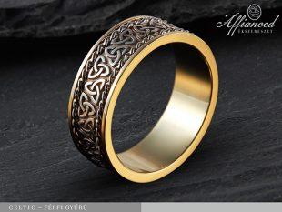 Celtic - férfi gyűrű