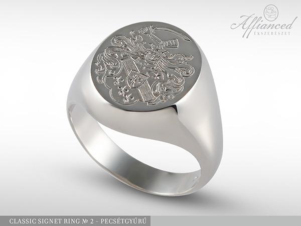 Classic Signet Ring no2 – pecsétgyűrű