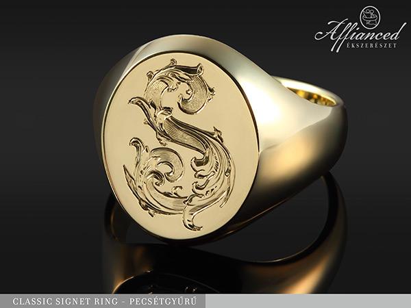 Classic Signet Ring – pecsétgyűrű