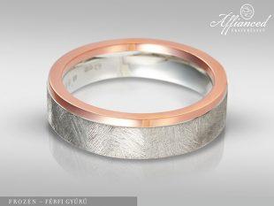 Frozen - férfi gyűrű
