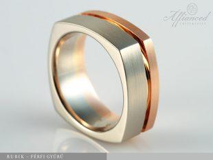 Rubik - férfi gyűrű