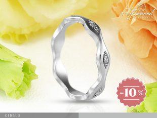 Cirrus - eljegyzési vagy női gyűrű