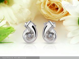 Nautilus - arany fülbevaló