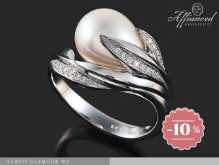 Tahiti Glamour no2 - női gyűrű