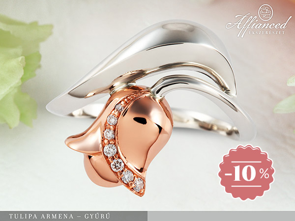 Tulipa Armena - női gyűrű