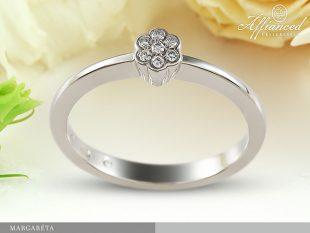 Margaréta - eljegyzési gyémánt gyűrű