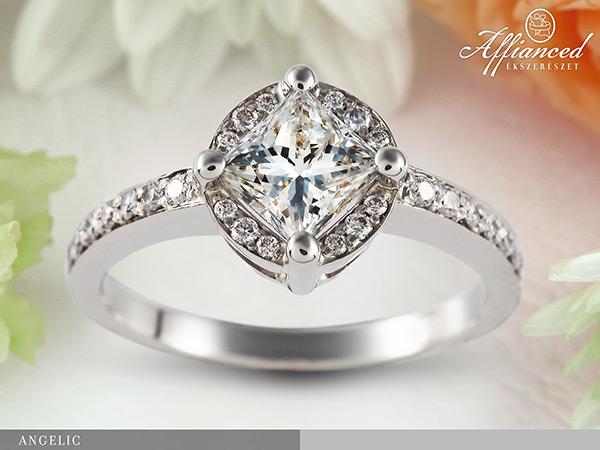 Angelic - eljegyzési gyűrű