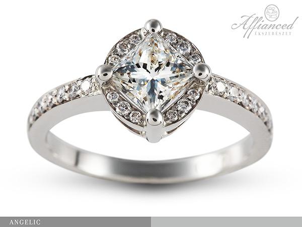 Angelic - gyémánt eljegyzési gyűrű