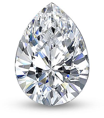 Csepp csiszolású gyémánt